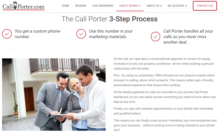 The Call Porter process