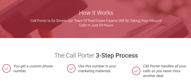 call porter process.